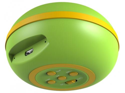 Портативная акустика Genius SP-906BT, зелёная, вид 1