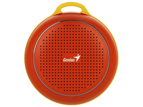Портативная акустика Genius SP-906BT, красная, вид 1