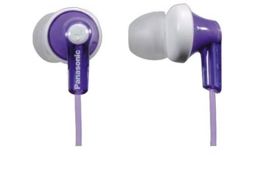 Наушники Panasonic RP-HJE118, фиолетовые, вид 1