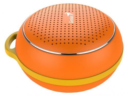 Портативная акустика Genius SP-906BT, оранжевая, вид 1