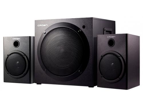 Компьютерная акустика Crown CMS-407, черная, вид 1