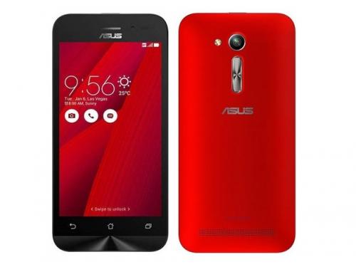 Смартфон Asus ZB450KL-1C038RU, красный, вид 1