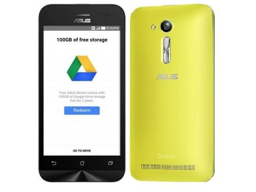 Смартфон Asus ZB450KL-1E039RU, желтый, вид 1