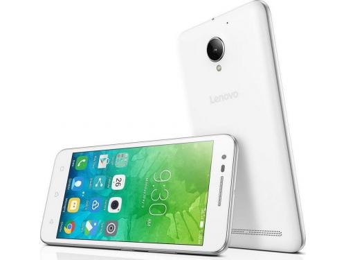 Смартфон Lenovo Vibe C2 (K10A40) 2SIM LTE, White, вид 4