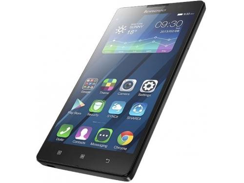 Смартфон Lenovo IdeaPhone P90 Single, чёрный, вид 5
