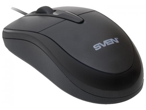Мышка Sven CS-304 USB, черная, вид 2