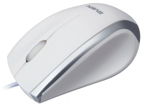 Мышка Sven RX-180 USB, белая, вид 1