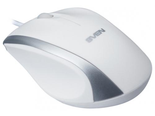 Мышка Sven RX-180 USB, белая, вид 2
