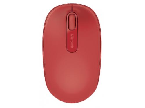 Мышка Microsoft Wireless Mobile Mouse 1850 U7Z-00034, красная, вид 4