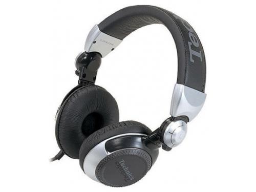 Наушники Panasonic RP-DJ1210E-S Technics, серебристые, вид 2