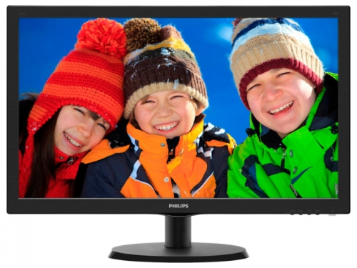 Монитор Philips 223V5LSB/10(62), чёрный, вид 1