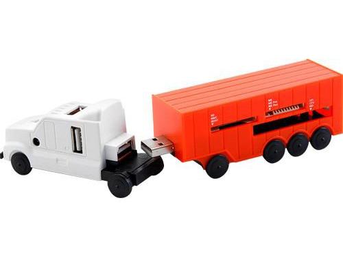USB-концентратор Konoos UK-41 Truck, вид 1