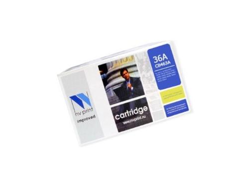 Картридж для принтера NV-Print для HP №36A (CB436A), чёрный, вид 1