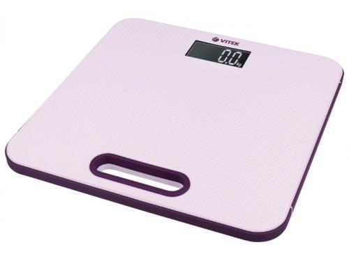 Напольные весы Vitek VT-1968 P, розовые, вид 1