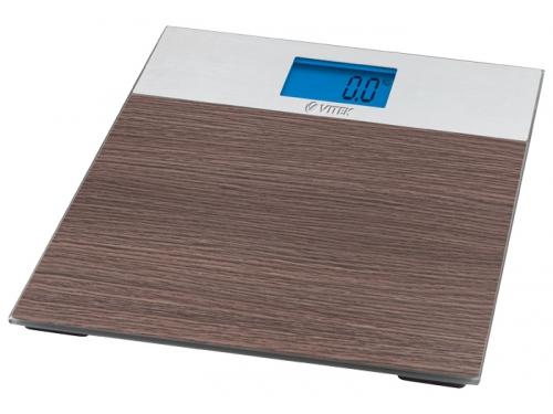Напольные весы Vitek VT-1981 BN, коричневые, вид 1