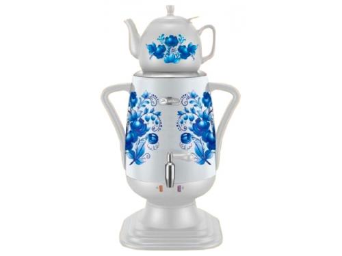 Чайник электрический Добрыня ДО-420 (самовар), белый, вид 1