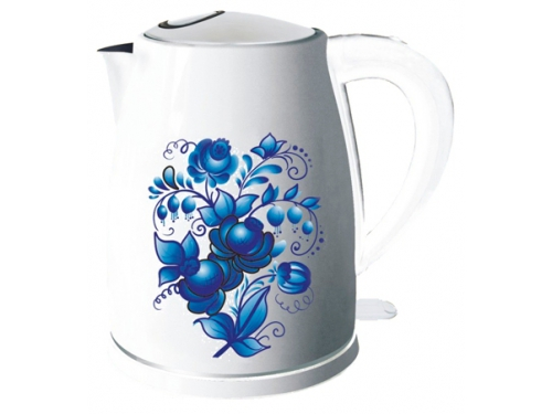 Чайник электрический Добрыня ДО-1214 Гжель, вид 1