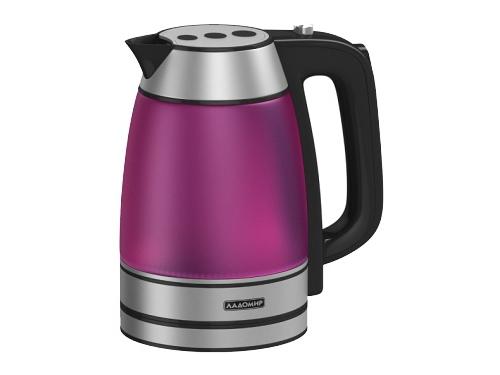 Чайник электрический Ладомир 128-1, красный, вид 1