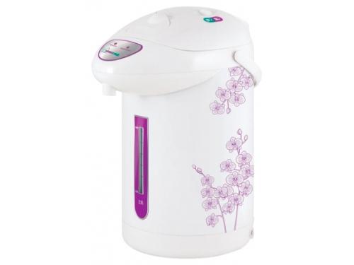 Термопот Homestar HS-5001, фиолетовые цветы, вид 1