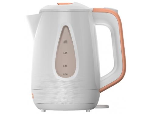Чайник электрический Ладомир-335, белый с персиковым, вид 2