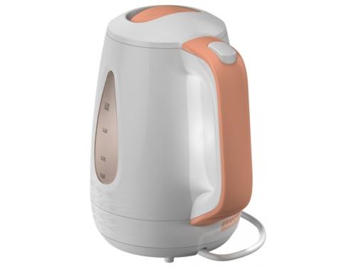 Чайник электрический Ладомир-335, белый с персиковым, вид 4