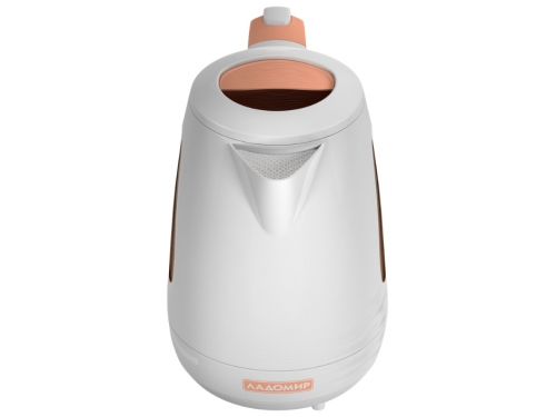Чайник электрический Ладомир-335, белый с персиковым, вид 5