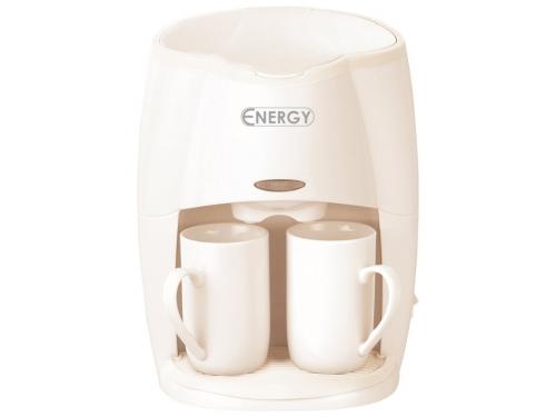 Кофеварка Energy EN-601, кремовая, вид 1
