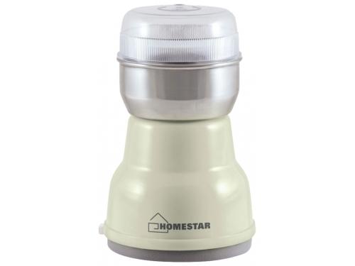 Кофемолка Homestar HS2001, бежевая, вид 1