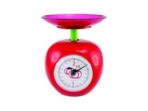 Кухонные весы Irit 7132, красные, вид 1
