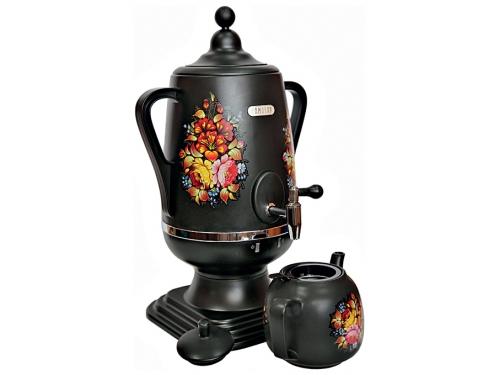 Чайник электрический Добрыня ДО-418 (самовар), черный, вид 1
