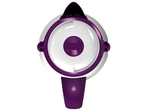 Чайник электрический Ладомир 328, белый/фиолетовый, вид 3
