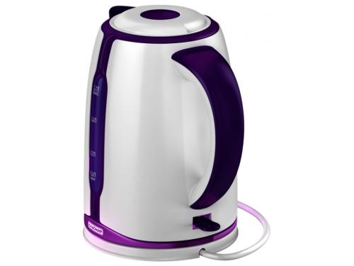 Чайник электрический Ладомир 328, белый/фиолетовый, вид 4