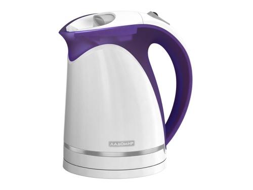 Чайник электрический Ладомир 324, фиолетовый, вид 1