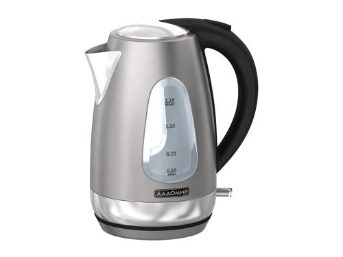 Чайник электрический Ладомир 125, серебристый, вид 1