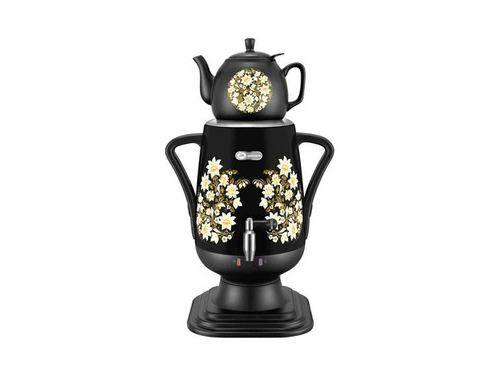 Чайник электрический Добрыня ДО-419 (Самовар), черный, вид 1
