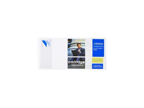 Картридж для принтера NV CE505A для HP 05A, чёрный, вид 1
