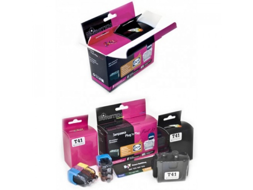 Картридж BURSTEN Plug-n-Print к картриджам Canon PGI-425/PGI-520/PGI-5B Black (Pigment) на 3 заправки, вид 1