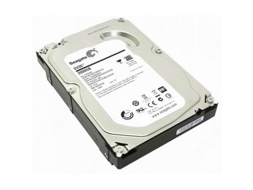 Жесткий диск HDD Seagate SATAIII 2000Gb (7200rpm) 64Mb ST2000VX000, вид 1
