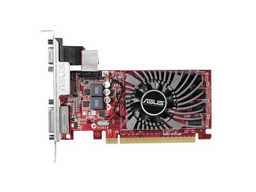 Видеокарта Radeon ASUS Radeon R7 240 730Mhz PCI-E 3.0 2048Mb 1800Mhz 128 bit DVI HDMI HDCP, вид 1