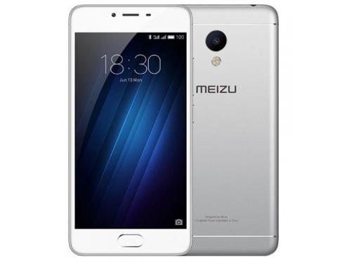 Смартфон Meizu M3s 32Gb, серебристый, вид 1