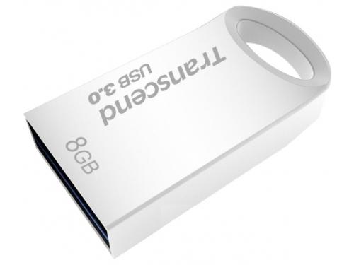 Usb-флешка 8 Gb, Transcend JetFlash 710S (Silver) USB 3.0 R/W 90/6 MB/s, вид 1