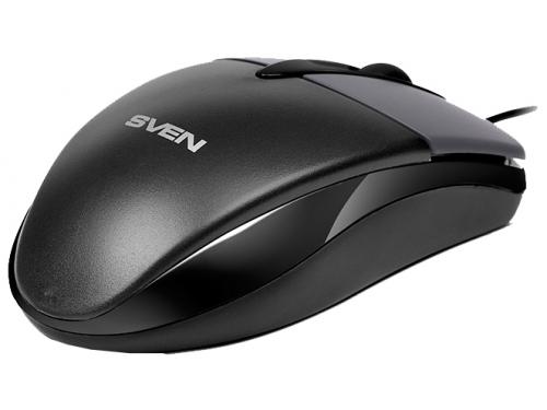 Мышка Sven RX-112 USB, серая, вид 3