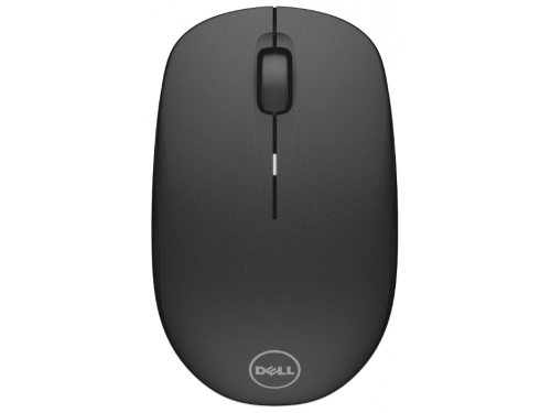 Мышка Dell WM126 Wireless Mouse, черная, вид 1