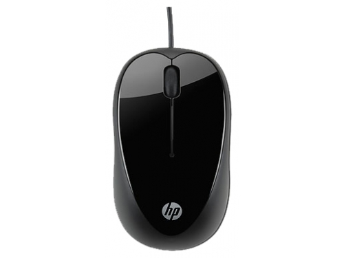 Мышка HP H2C21AA X1000, черная, вид 2
