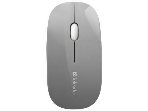 Мышка Defender NetSprinter MM-545, серо-белая, вид 1