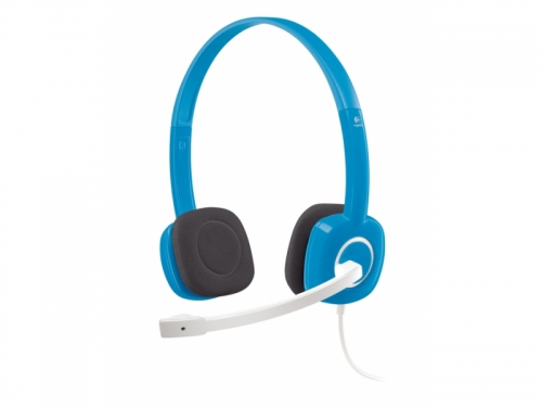 Гарнитура для пк Logitech Stereo Headset H150, синяя, вид 1
