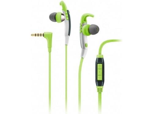 Гарнитура для телефона Sennheiser OCX 686G Sports, зеленая, вид 1