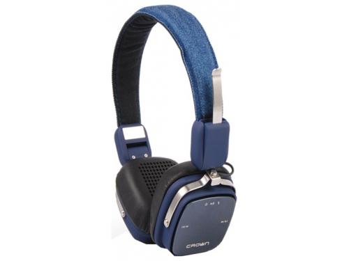 �������� �������� CROWN CMBH-9301 Bluetooth Headphone (blue jeans), ��� 1