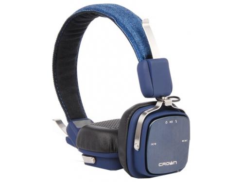 �������� �������� CROWN CMBH-9301 Bluetooth Headphone (blue jeans), ��� 3