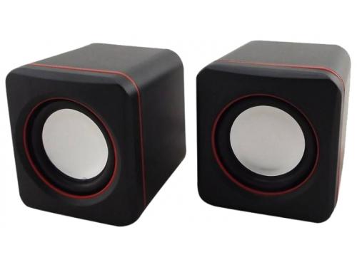 Компьютерная акустика Oklick OK-301, черно-красная, вид 1